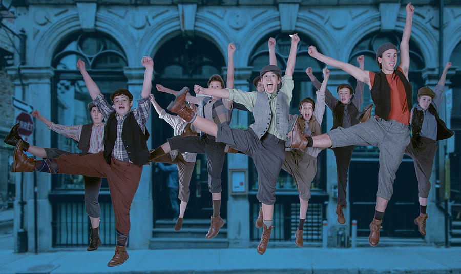 Broadway Photograph - Newsies at the Artisan Center Theater by Alan D Smith