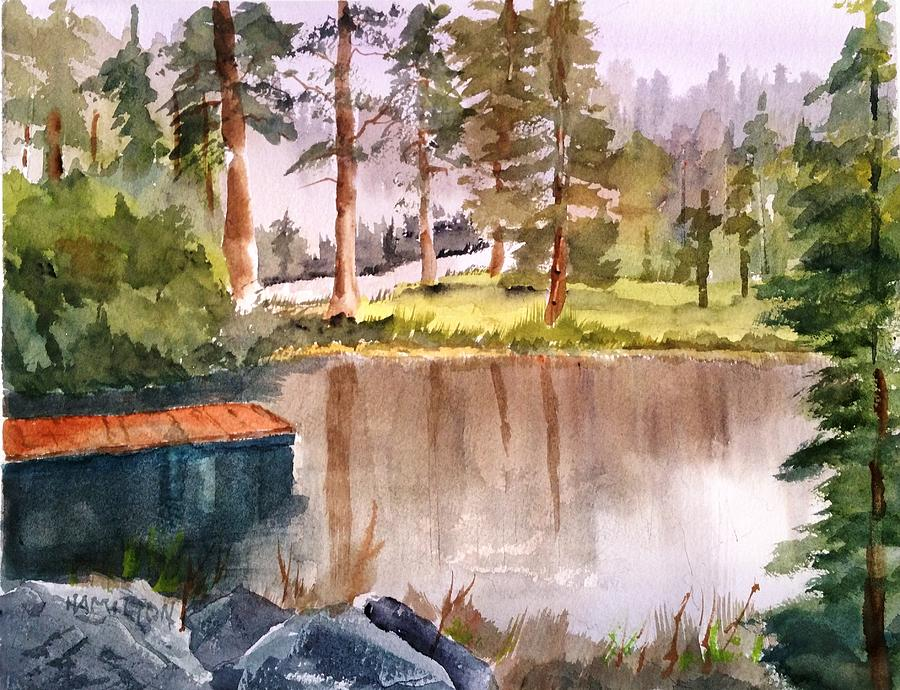 Nez Perce Lake by Larry Hamilton