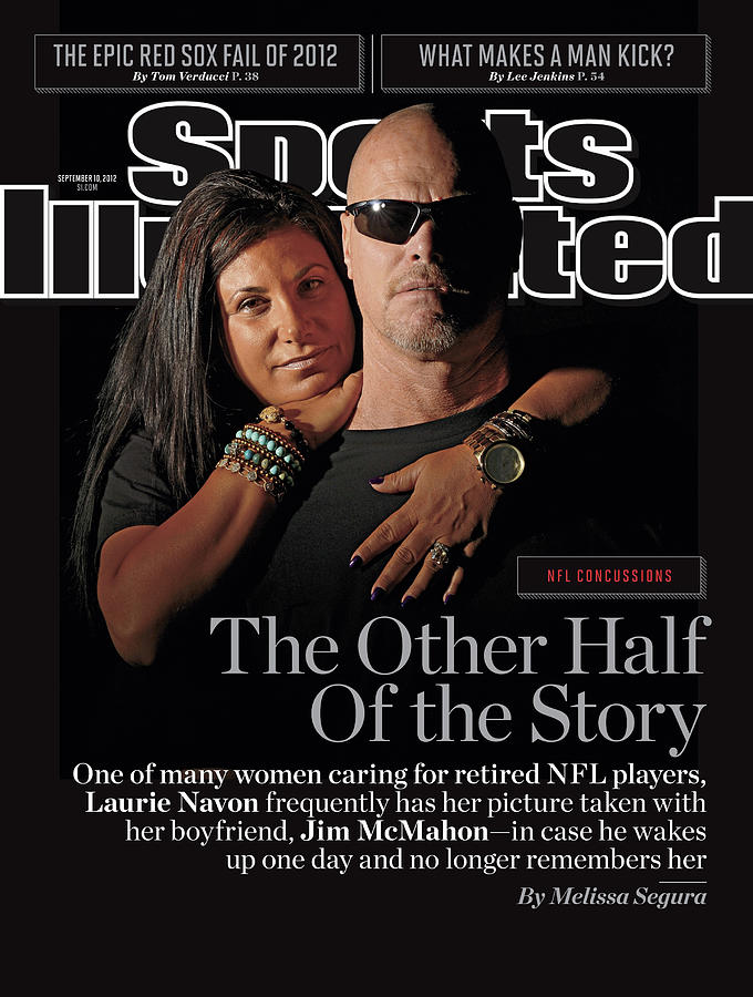 Nfl Concussions The Other Half Of The Story Sports Illustrated Cover Photograph by Sports Illustrated