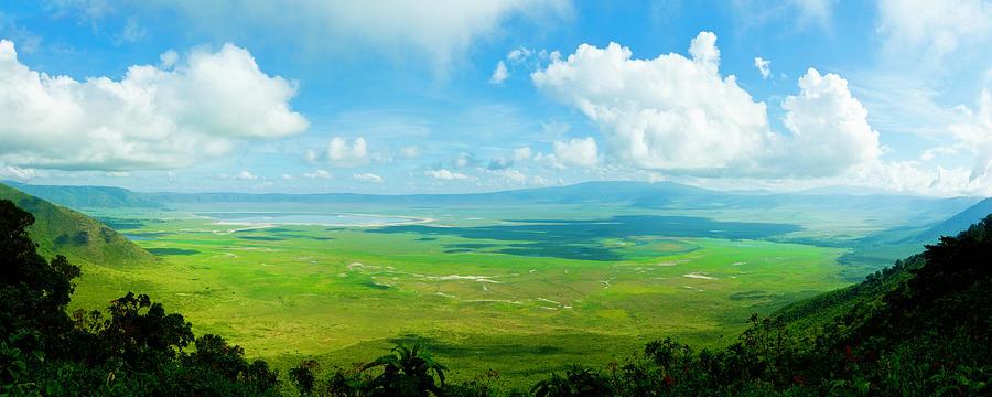 Ngorongoro Crater, Tanzania, Africa Xxxl Photograph by Ranplett