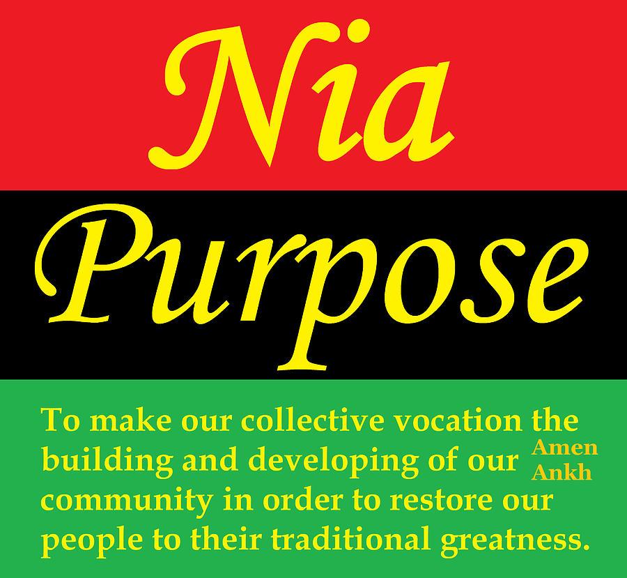 Nia Purpose by Adenike AmenRa