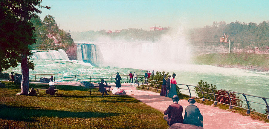 Niagara Falls from Prospect Point - 1901 by War Is Hell Store