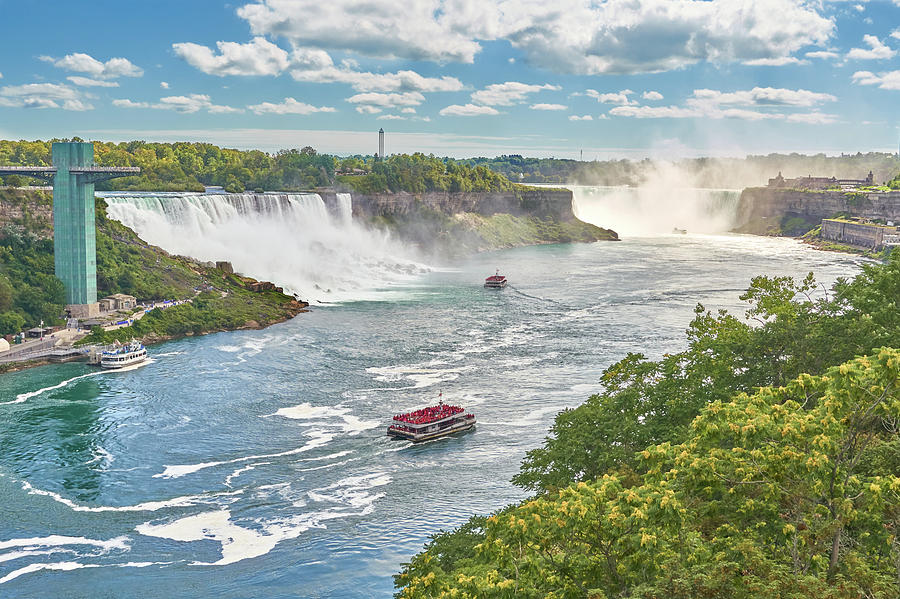 Niagara Falls from the Canadian Side by Jim Hughes