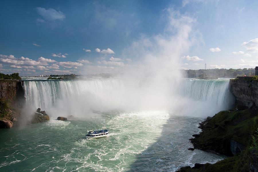 Niagara Falls In The Summer Photograph by Pgiam