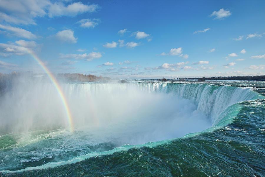Niagara Falls Photograph by Laszlo Podor