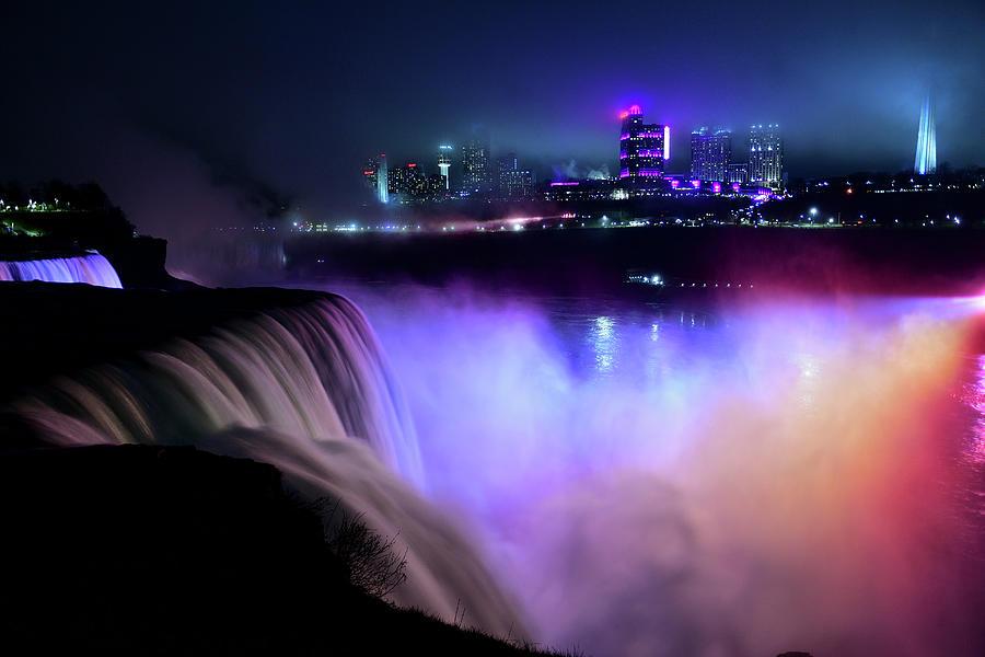 Niagara Night by Michael Morse