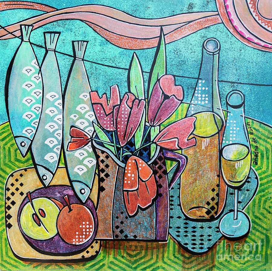 Nice Day 2, still life by Ariadna De Raadt