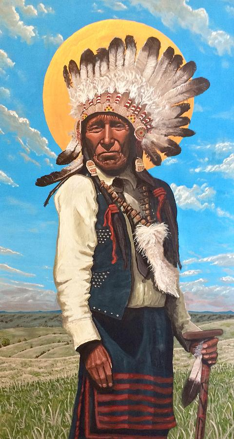Nicholas Black Elk  by Kelly Latimore