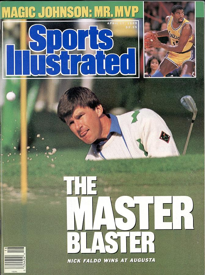 Nick Faldo, 1989 Masters Sports Illustrated Cover Photograph by Sports Illustrated