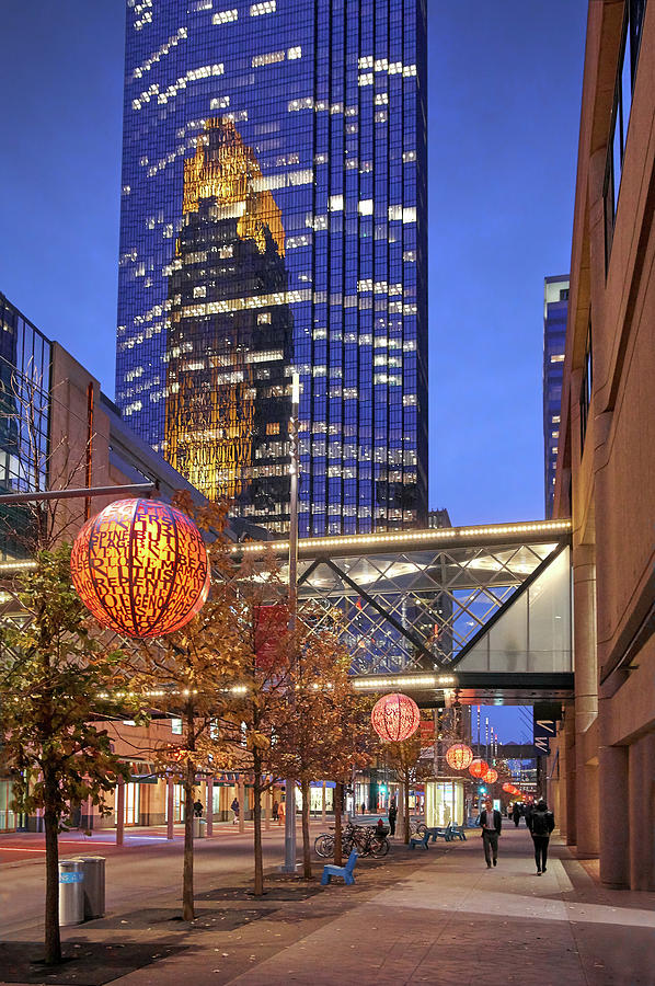 Nicollet Mall Late In The Day by Jim Hughes