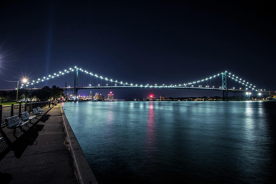 Night at Riverside Park by Jay Smith