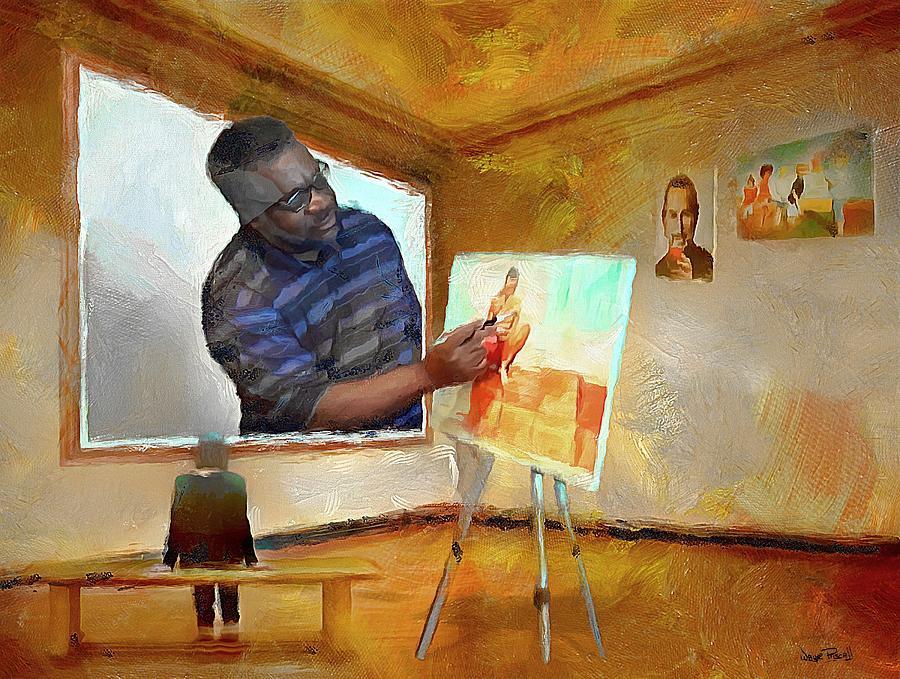 Night at The Art Gallery - Wayne's World by Wayne Pascall