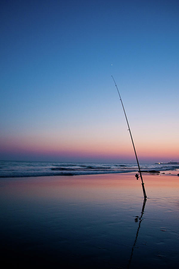 Night Fishing Photograph by Abd