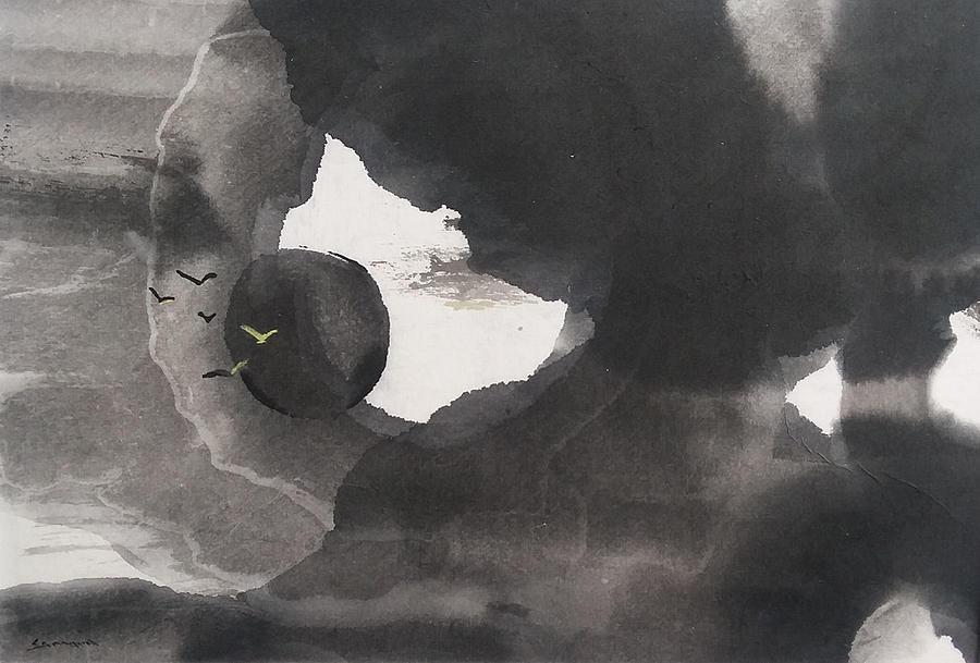 Night Flight by Laurie Samara-Schlageter