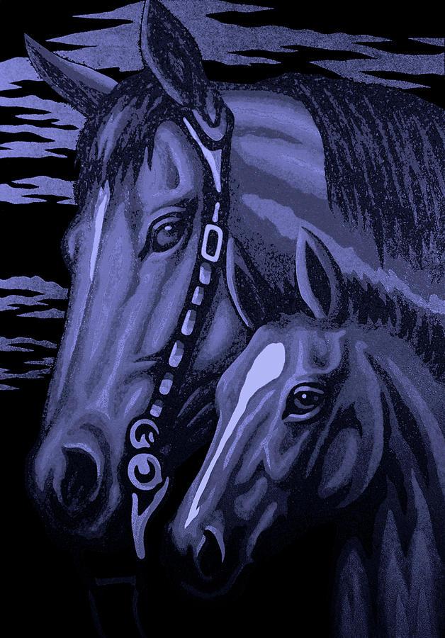 Night Horses by Steve Fields
