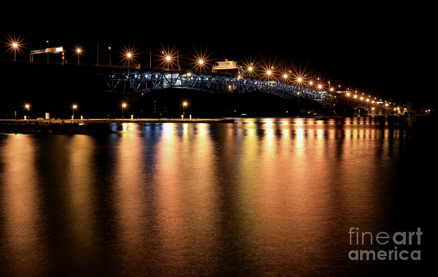 Night Lights in Yorktown by Lara Morrison