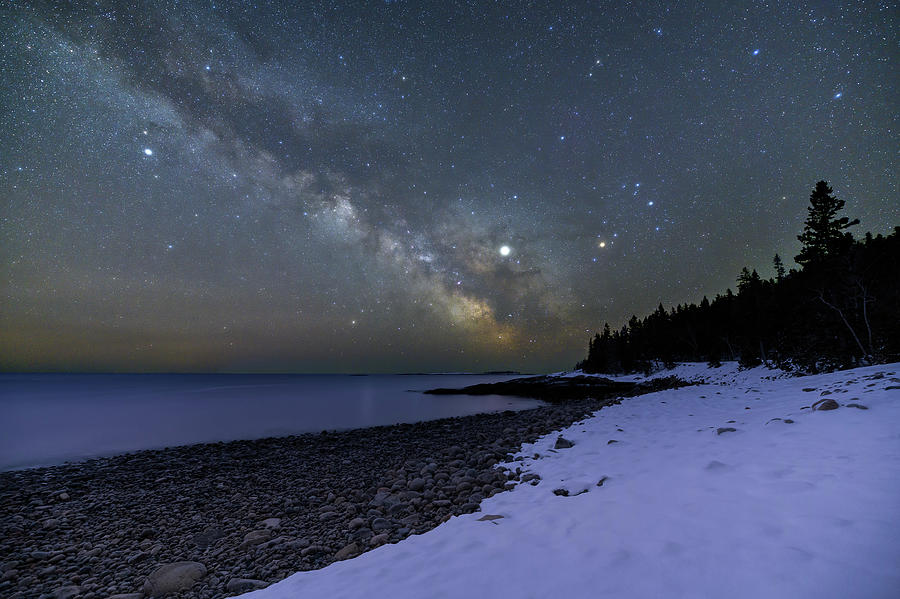Night on Buck Cove by Michael Blanchette