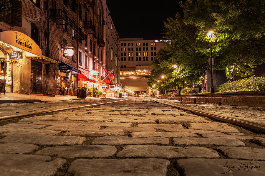 Night on River Street by Bryan Lee Williams