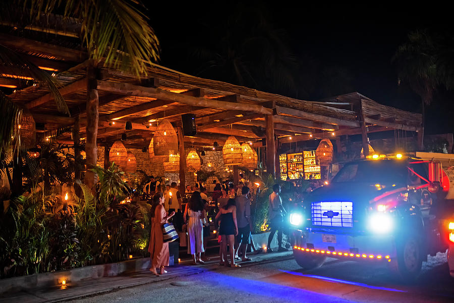 Night out in Tulum Mexico Nightlife by Toby McGuire
