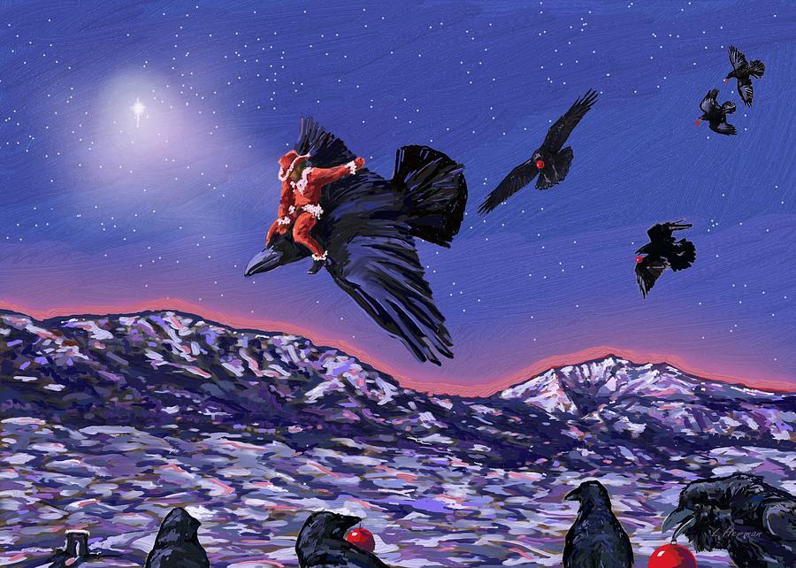 Santa's Scout by Les Herman