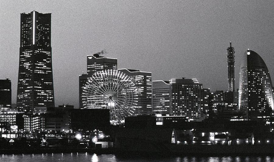 Night Scene Of Yokohama Photograph by Snap Shooter Jp