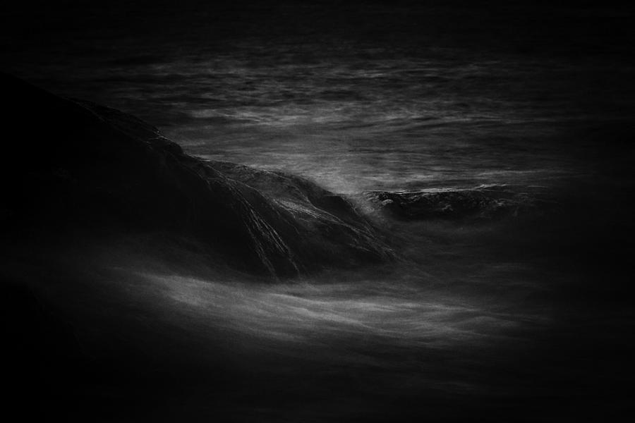 Night Sea Photograph by Jakimbo