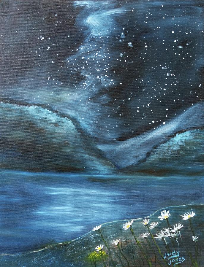 Night Sky Starlight Painting