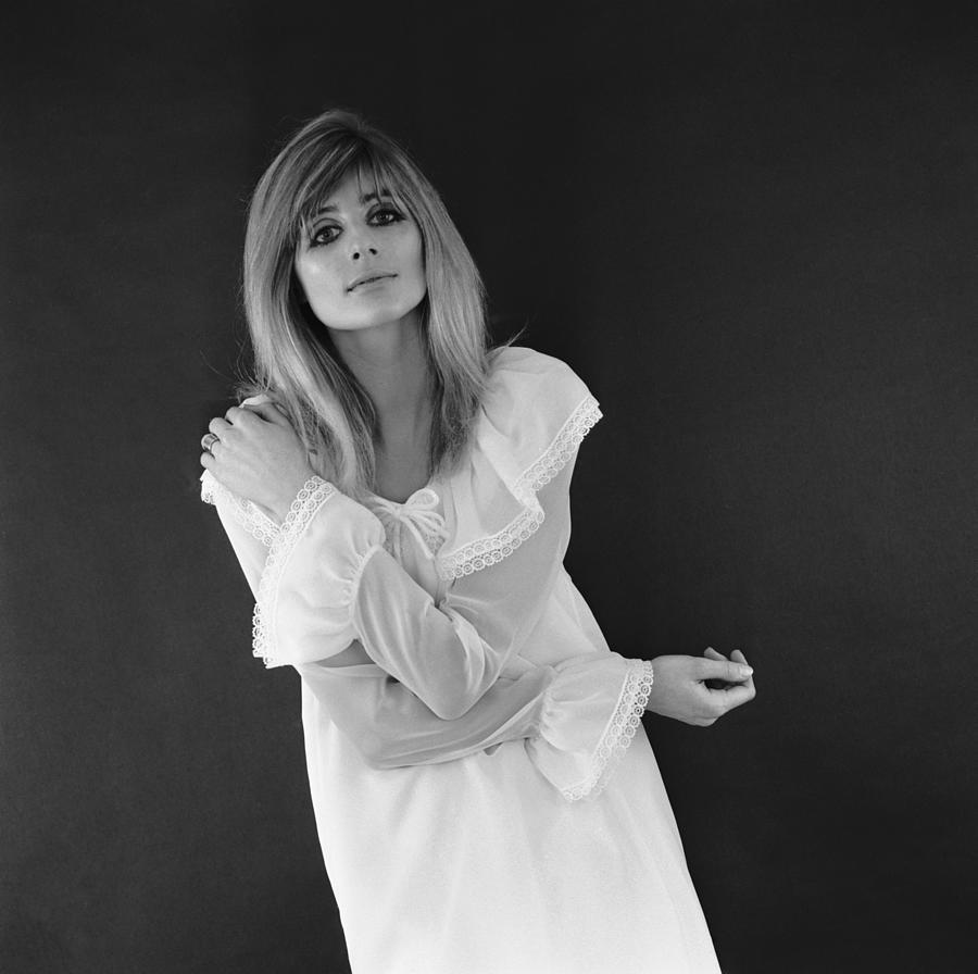Nightdress Model Photograph by M. Mckeown