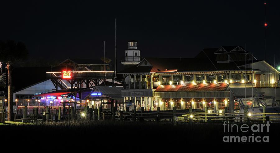 Nightlife On The Creek Photograph