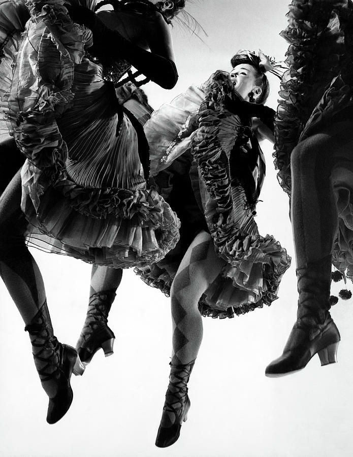 Nightmare Ballet In Original Oklahoma On Broadway Photograph by Gjon Mili