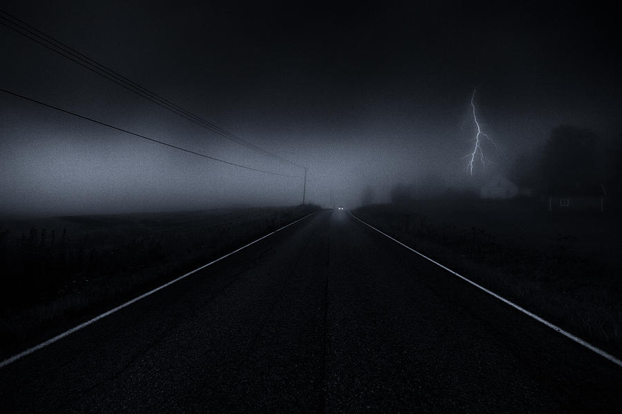 Finland Photograph - Nightmare. by Mika Suutari