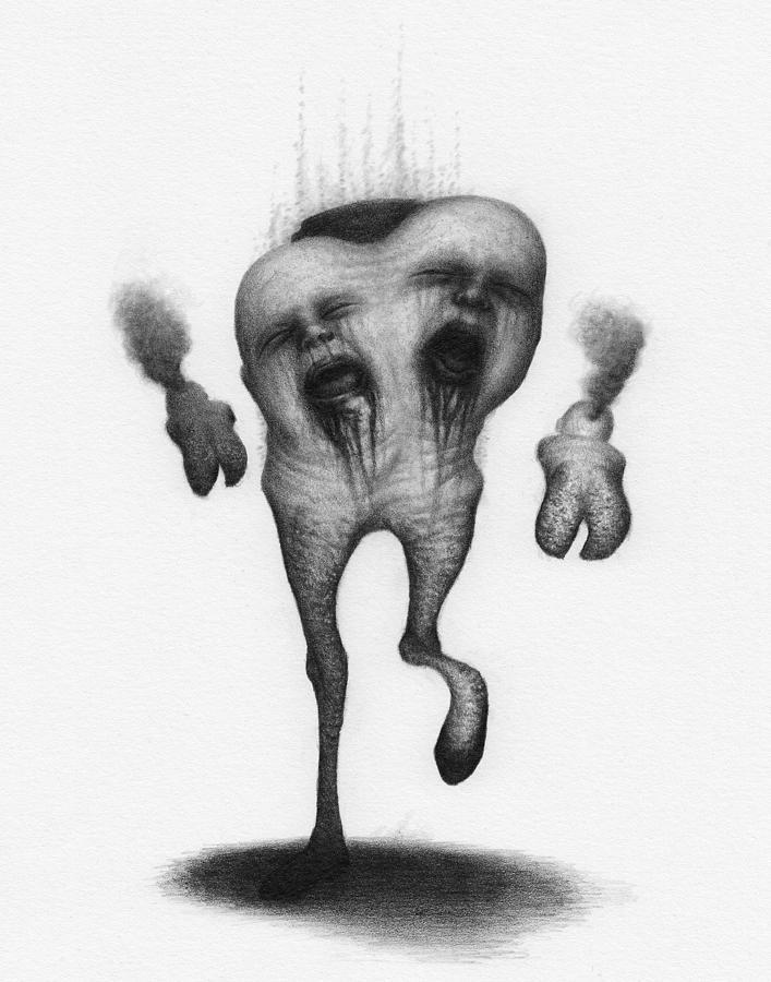Nightmare Strider - Artwork by Ryan Nieves
