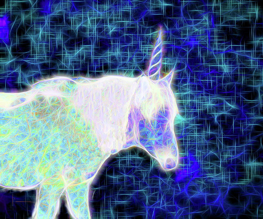 Nightwalk of the Opal Unicorn by Denise Beverly