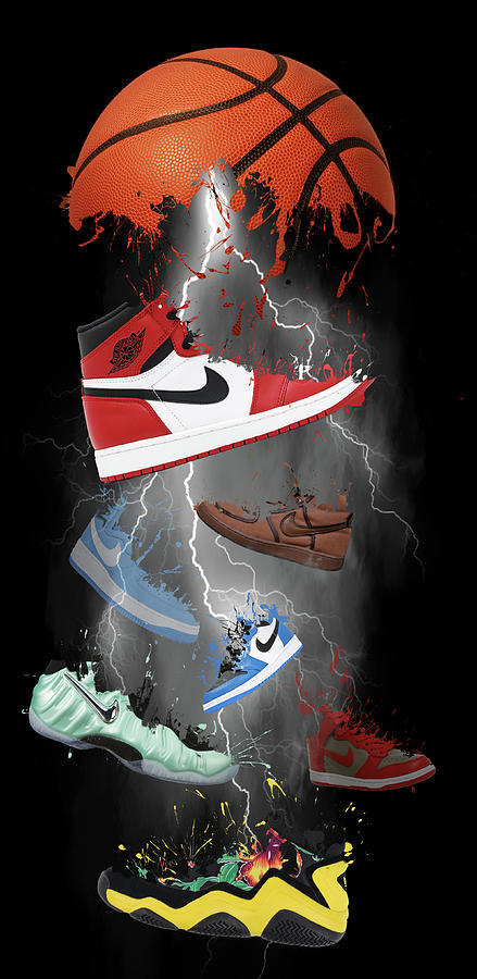 91f43aef4 Nike Storm Digital Art by Davina Washington