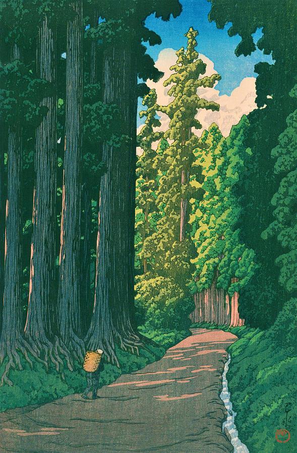 Ukiyoe Painting - NIKKOKAIDO - Top Quality Image Edition by Kawase Hasui