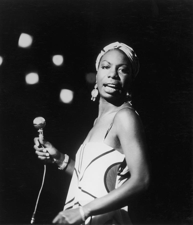 Singer Photograph - Nina In Concert by Hulton Archive