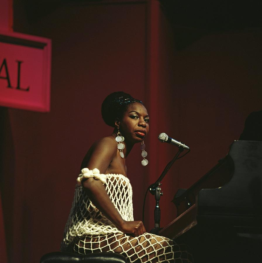 Nina Simone Photograph by David Redfern