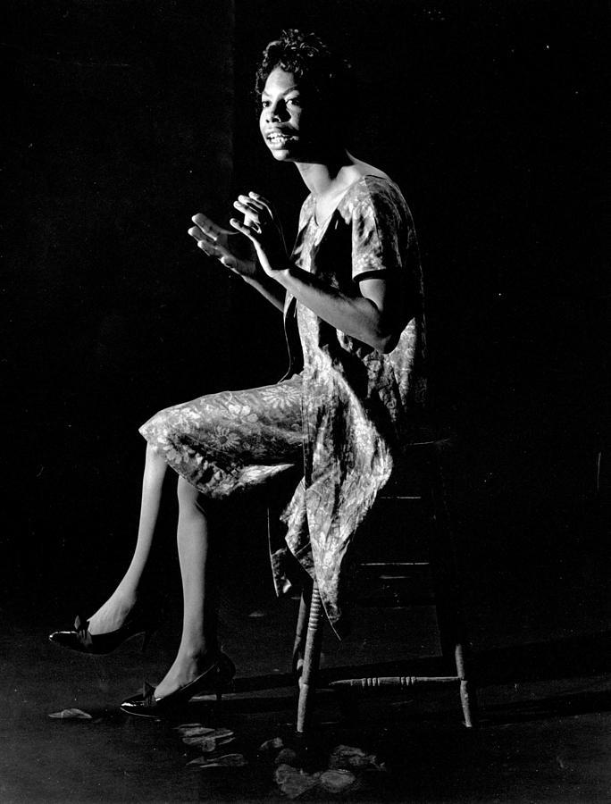 Nina Simone Photograph by Herb Snitzer