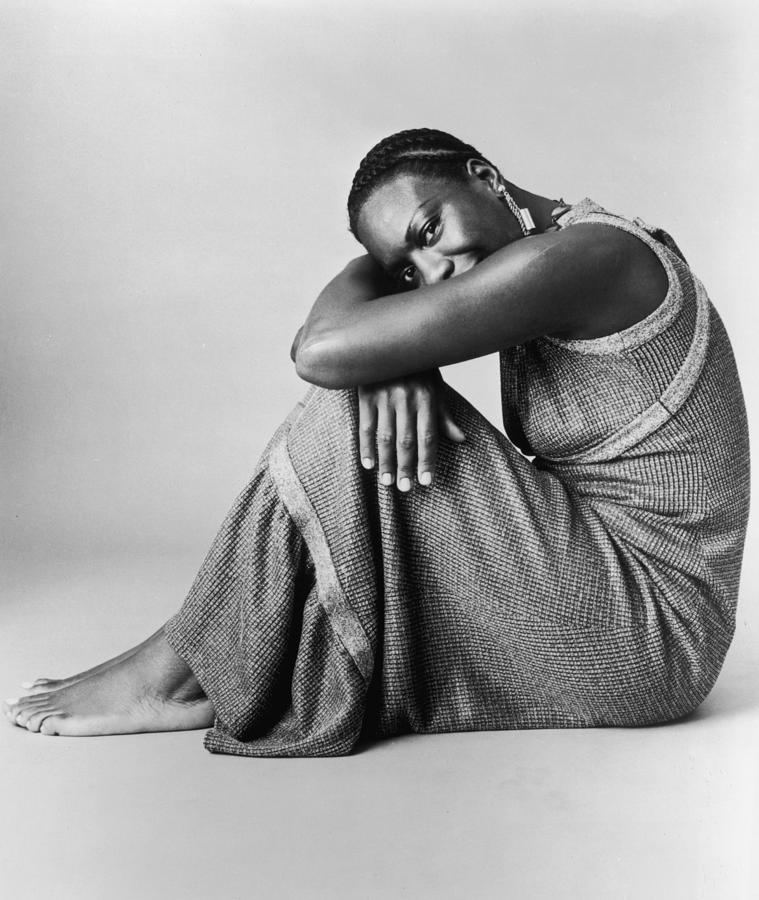 Nina Simone Photograph by Hulton Archive