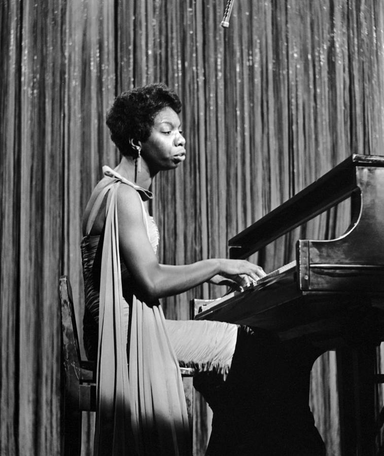 Nina Simone On Ed Sullivan Photograph by Michael Ochs Archives