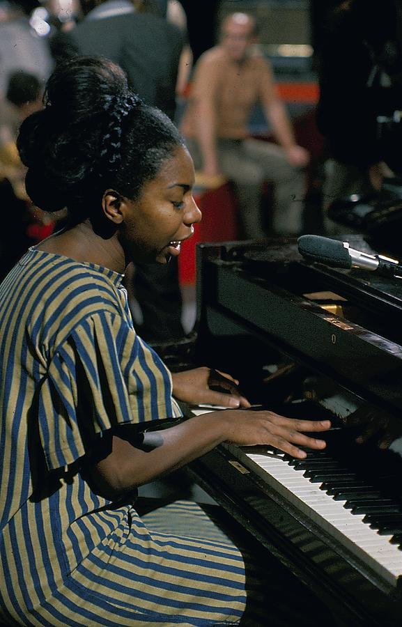 Nina Simone On Ready Steady Go Photograph by Popperfoto