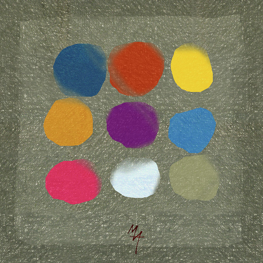 Nine Spots by Attila Meszlenyi