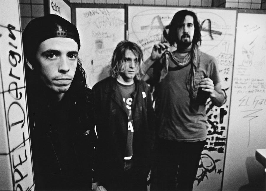 Nirvana Backstage Photograph by Paul Bergen