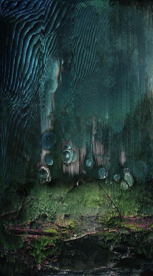 Landscape Digital Art - Nitrogen cycle by Jenny Filipetti