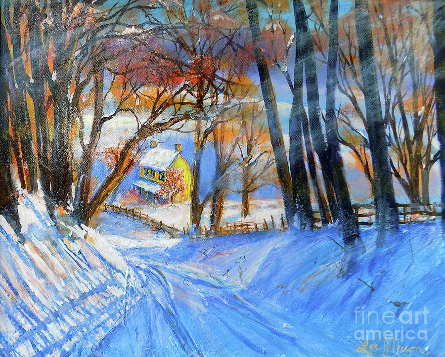 NIXON'S A WINTER DAY ON OLD RAPIDAN ROAD by Lee Nixon