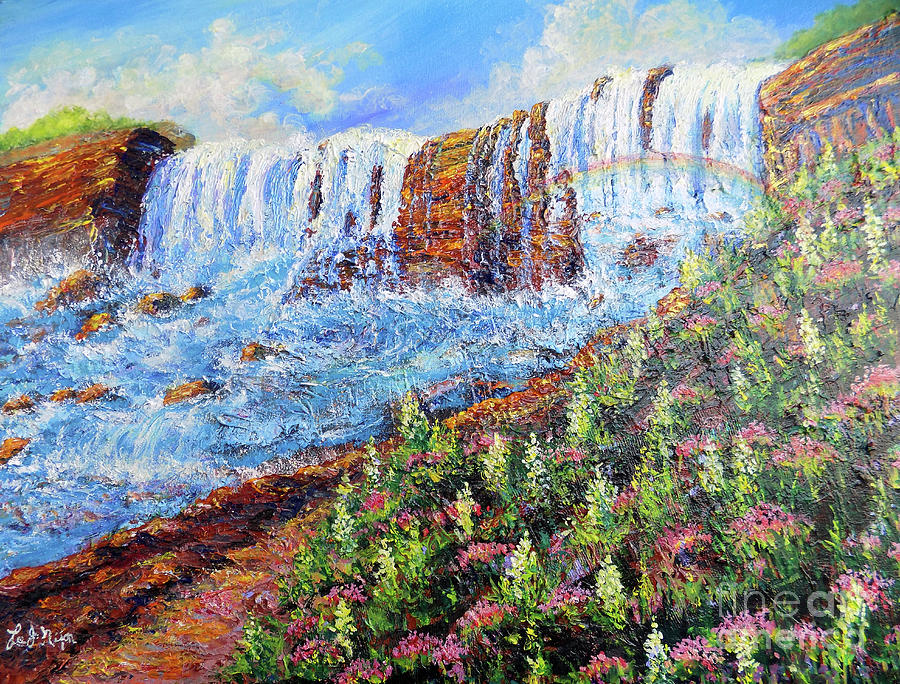 NIXON'S MARVELOUS VIEW OF NIAGARA FALLS by Lee Nixon