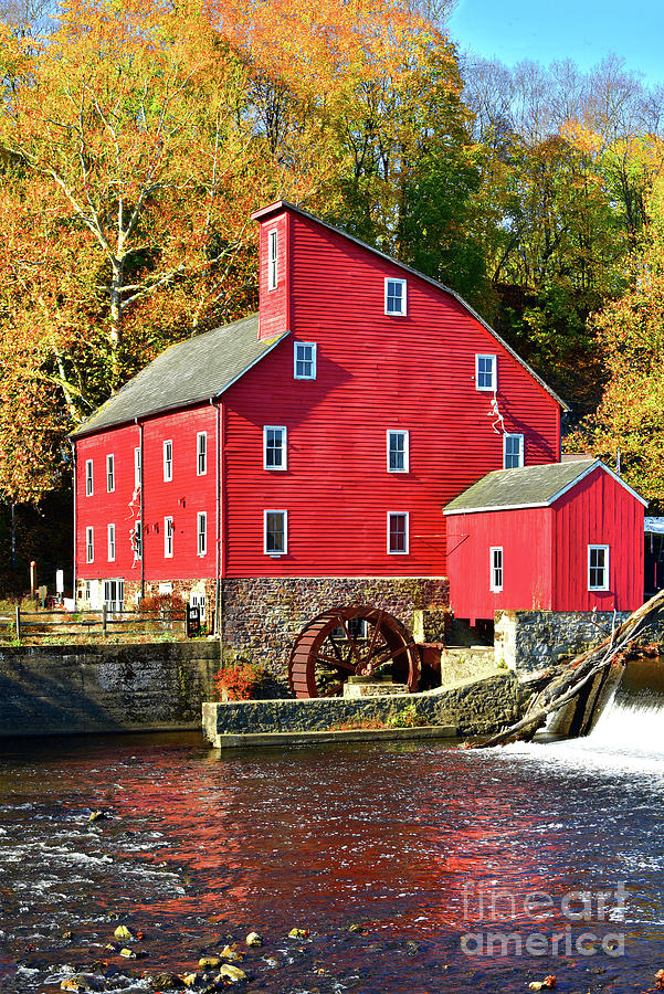 NJ Red Mill and Autumn Gold by Regina Geoghan