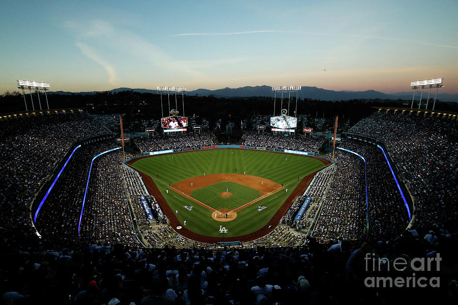 Nlcs - Chicago Cubs V Los Angeles Photograph by Josh Lefkowitz
