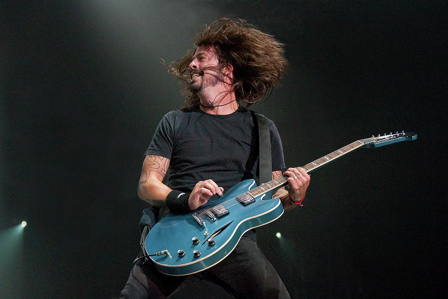 Nme Big Gig - Foo Fighters With Cee Lo Photograph by Neil Lupin