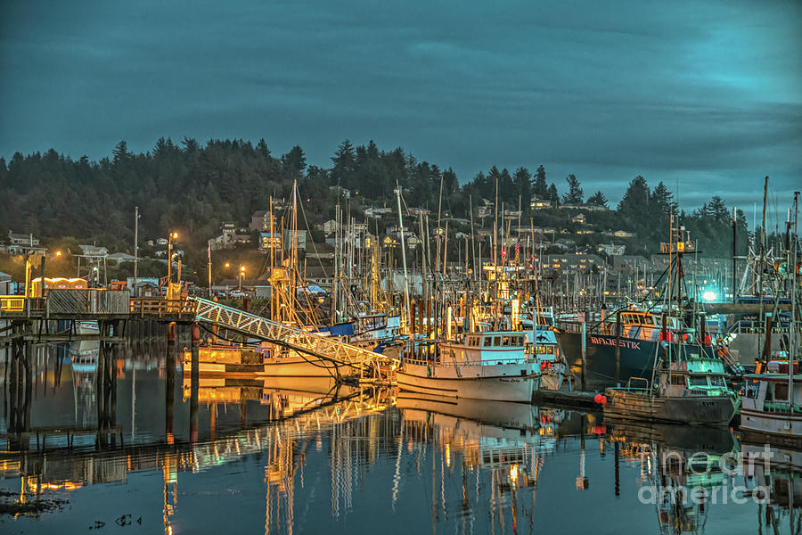 Newport Oregon Waterfront by Craig Leaper